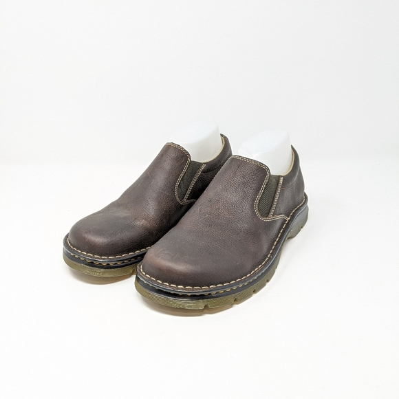 Dr Martens Bryce Brown Leather Loafers